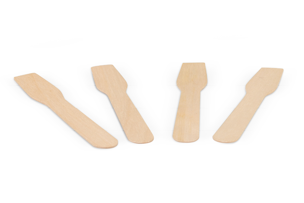 Eislöffel aus Holz