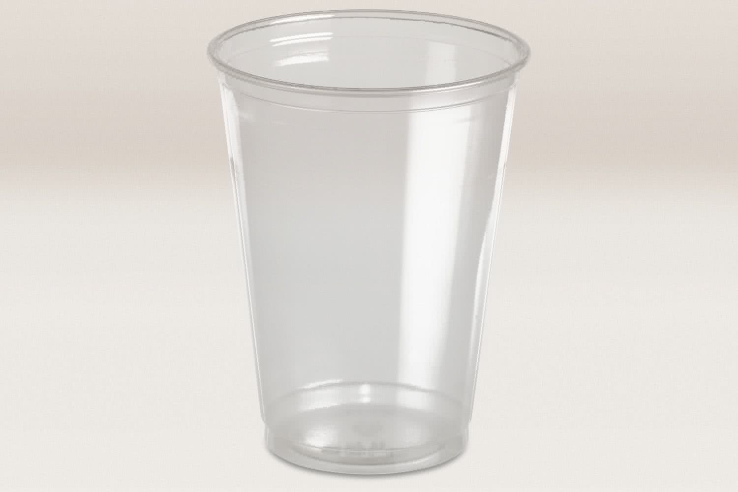Clear Cup Becher