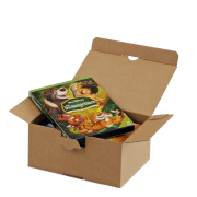 QUICK-BOX® braun mit Blitzboden