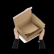 COMFORT-BOX mit Selbstklebeverschluss