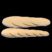 Tortenscheibe gold