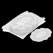 Tortenpapier oval
