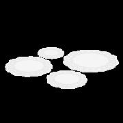 Tortenspitze rund