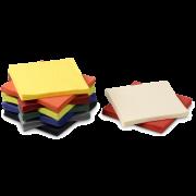 Zelltuch-Serviette farbig 33x33 cm, 1/4-Falz