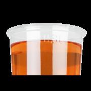 Clear Cup aus rPET mit Eichstrich