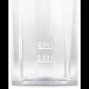 Trinkglas aus PS