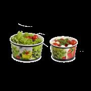 Salatschale aus Karton