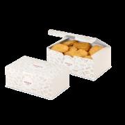 Snack-Faltbox «FRISCH & fein»
