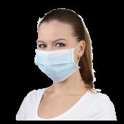 Einweg-Mundschutz blau