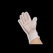 Vinyl-Handschuh transparent