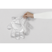 Einweghandschuh aus PE transparent