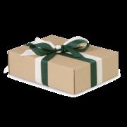 Geschenkband aus Recyclingmaterial