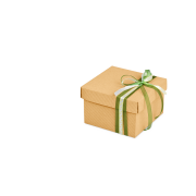 Geschenkschachtel «offene Welle»