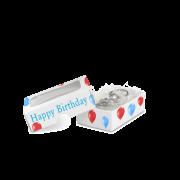Mini-Geschenkbox mit Sichtfenster