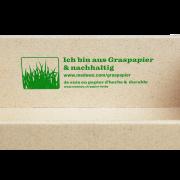 GRAS-PAC Stülpdeckelkarton mit Klarsichtdeckel