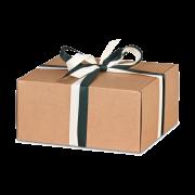 Geschenkkarton quadratisch