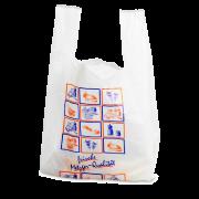 Hemdchentragetasche aus HDPE bedruckt
