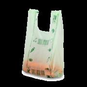 Individuell bedruckte Bio-Hemdchen-Tragetasche