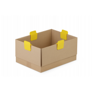 Boxenklammer GELB