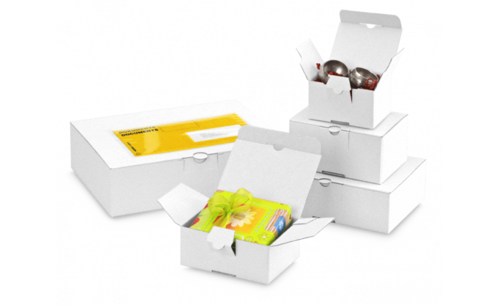 QUICK-BOX® weiß mit Blitzboden