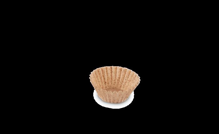 Gebäckkapsel Ø 24xH 16 mm «Kakao»