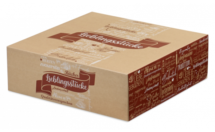 Tortenkarton, 340×340×110 mm