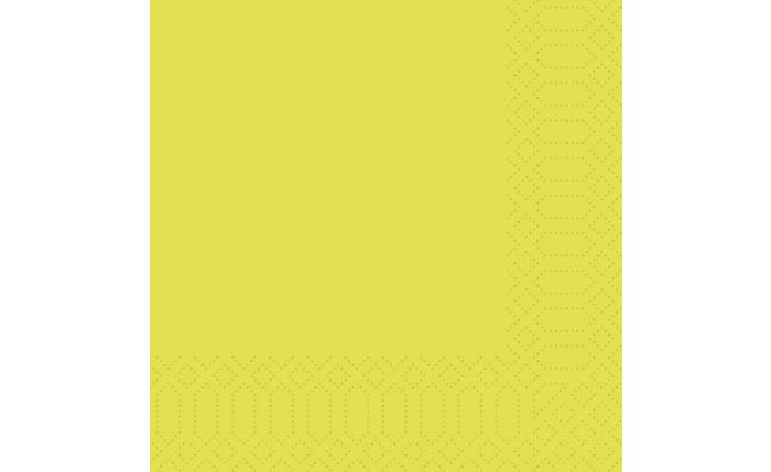 Zelltuch-Serviette 33×33 cm, kiwi