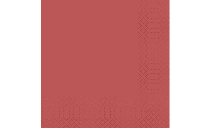 Zelltuch-Serviette 33×33 cm, bordeaux
