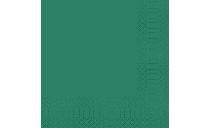 Zelltuch-Serviette 33×33 cm, jägergrün