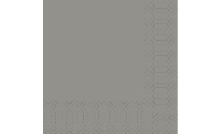 Zelltuch-Serviette 40×40 cm, grau