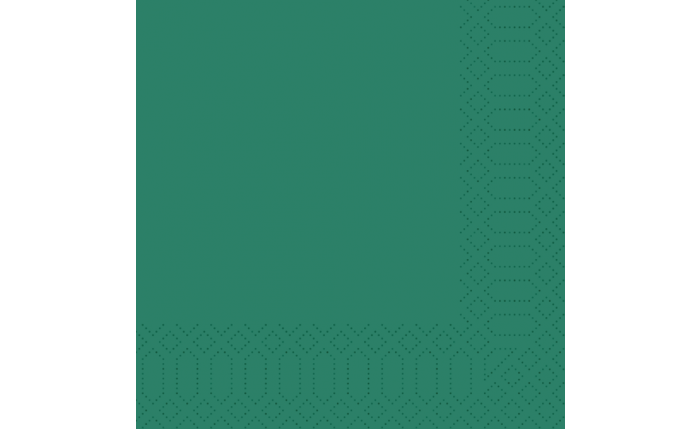 Zelltuch-Serviette 40×40 cm, jägergrün
