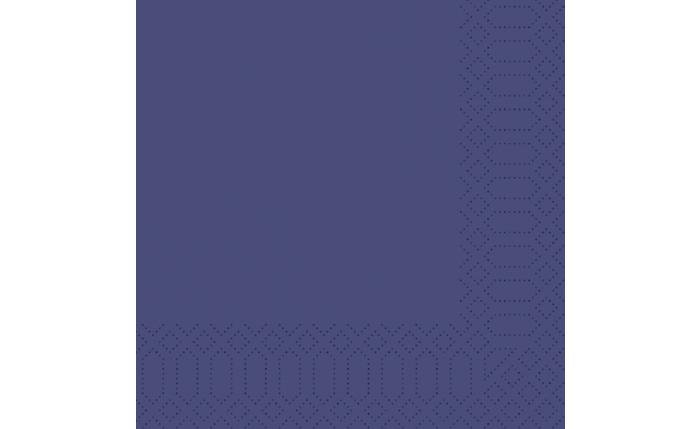 Zelltuch-Serviette 40×40 cm, dunkelblau