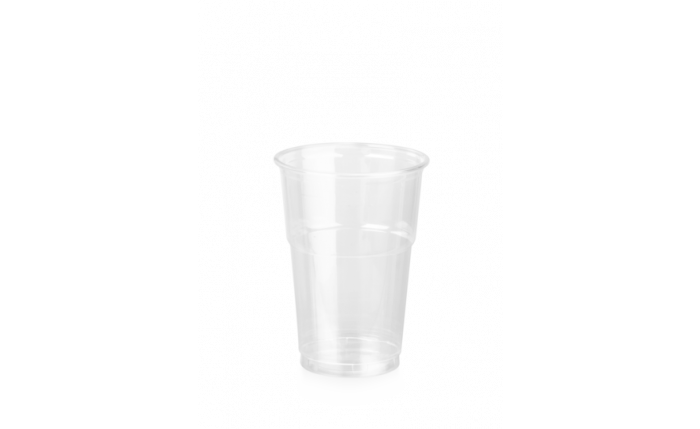 rPET Clear Cup, 10 oz/0,250 l, Ø 78 mm