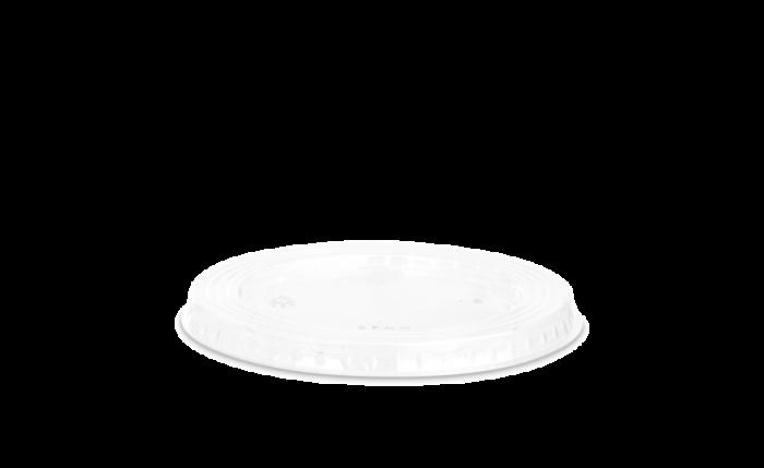 Flachdeckel aus rPET Ø 95 mm