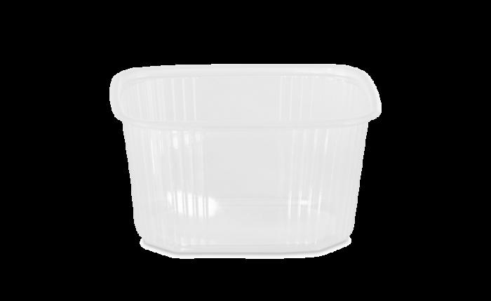 PP-Rechteckbecher ohne Deckel 300 ml/250 g