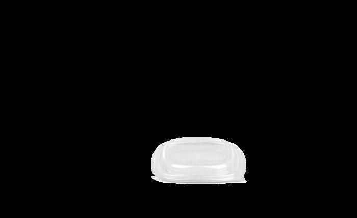 rPET-Deckel eckig, 170×170×19 mm