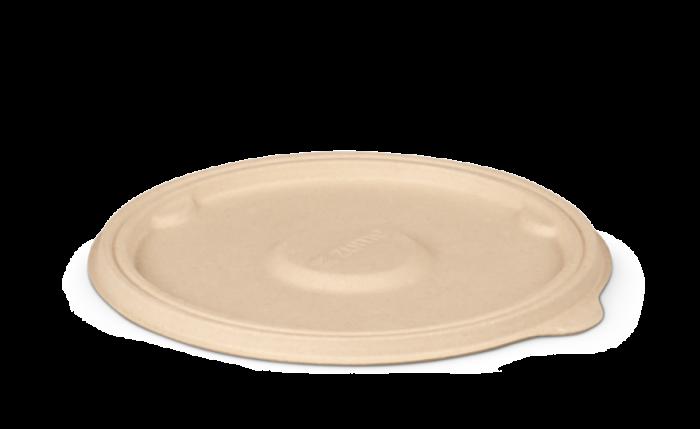 Bagasse-Deckel, Ø 160xH 7 mm