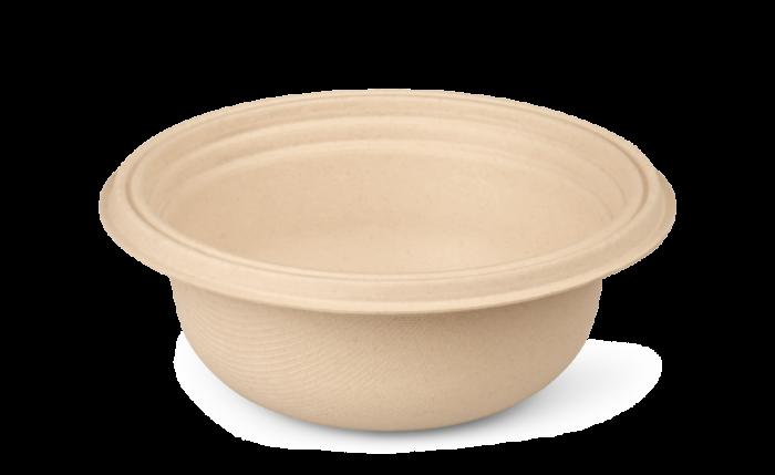 Bagasse-Schale, Ø 160xH 60 mm 500 ml