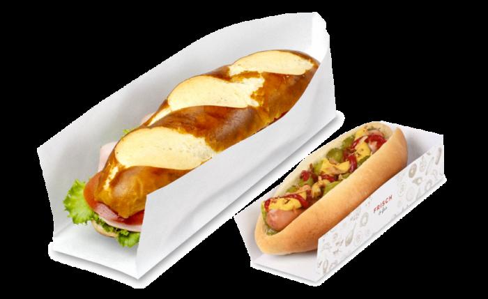 Hotdog- & Sandwich-Verpackung