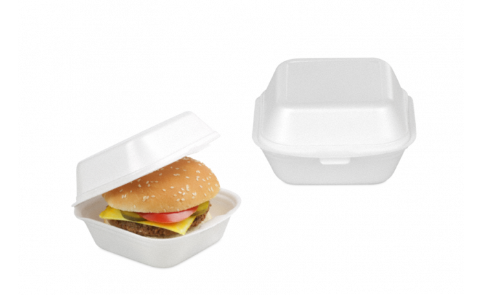 Burger-Box aus XPS