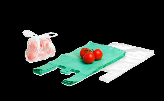 Hemdchentragetasche aus HDPE «Budget»