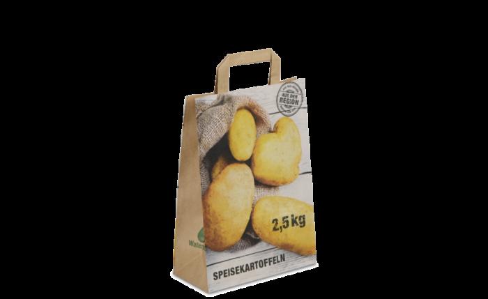Tragetasche 220×100×310 mm, «Kartoffel» 2,5 kg