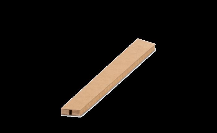 ELASTPACK Papierwaben-Schutzhülle braun L 25 cm