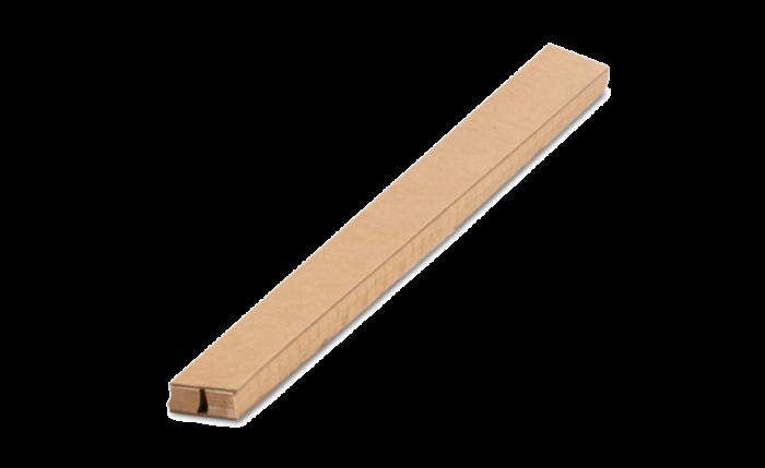 ELASTPACK Papierwaben-Schutzhülle braun L 35 cm