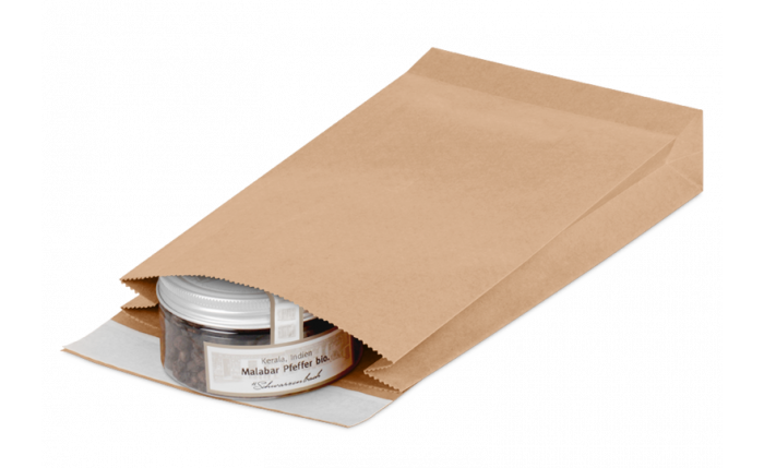 Geschenkbeutel aus Kraftpapier S, 190×50×300 mm