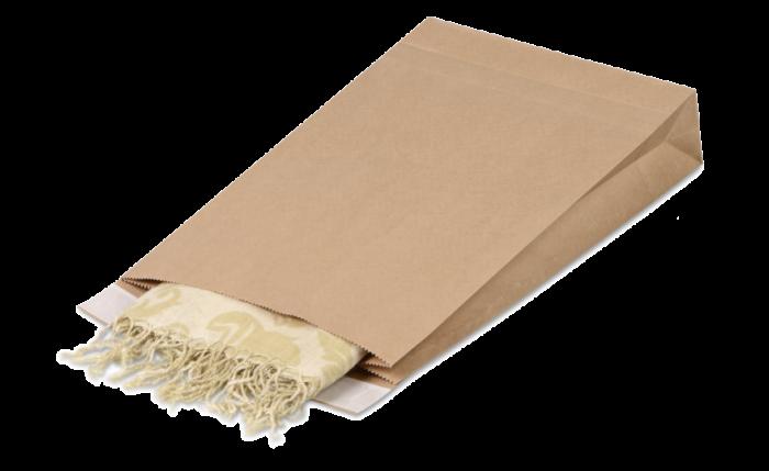 Geschenkbeutel aus Kraftpapier L, 260×70×410 mm