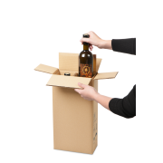 Flaschen-Versandkarton