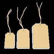 Anhänge-Etikett aus Karton