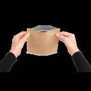MECASEAL Aromabeutel mit Standboden, Papier
