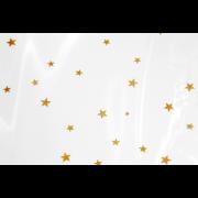 Kreuzbodenbeutel aus OPP mit Sternen